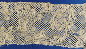 Binche lace with Flanders ground