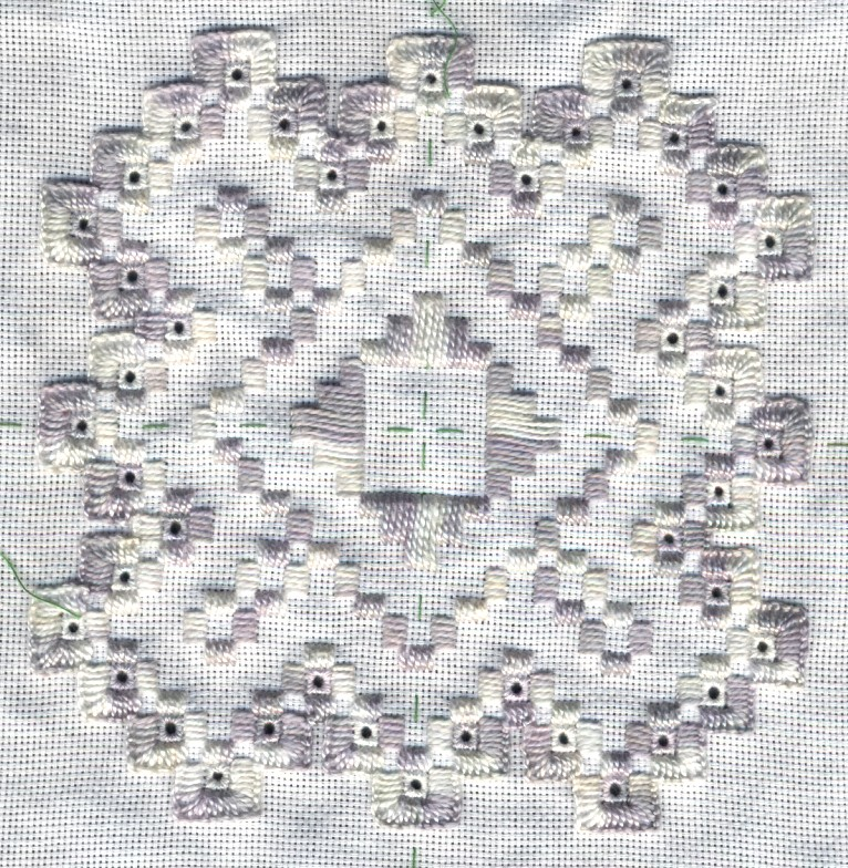 Hardanger embroidery tutorial