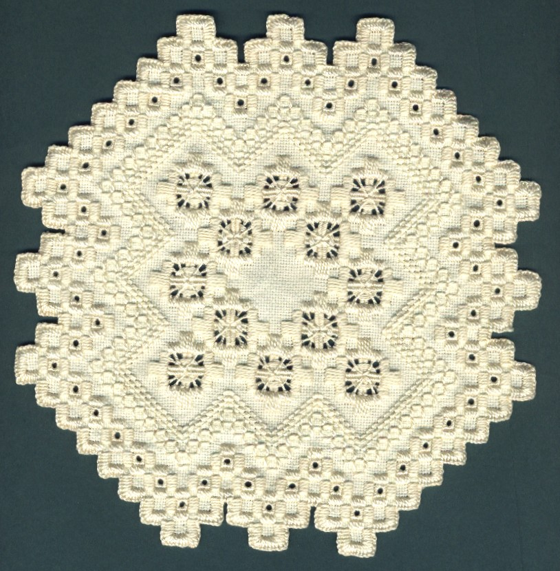 My hardanger embroidery